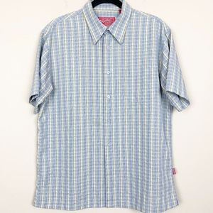 Woody's Retro Lounge Button Down Shirt